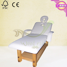 Solid Wood durable massage table,durable massage bed,Beauty spa massage bed