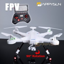 FPV 2.4G RC Drone RC Helicopter Quadcopter with Realtime Video Transmission R22976