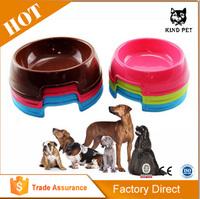 Bulk Plastic Pet Dog Cat Bowl Promotional Customized Decal Printing Novelty Pet Bowls