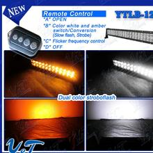 avoid radio interference.120w lights round 20inch for off road with good function ip67 amber flash led light bar