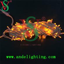 Outdoor LED Light String, 10m 100 bulbs LED Christmas Fairy Light