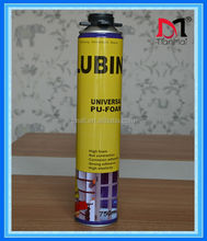 One component spray polyurethane pu foam, construction pu adhesive