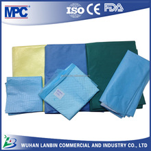 surgical supply hospital medical grade polyester bedsheet fabric