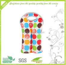neoprene wine cooler bag tote wine bag bottle carrier