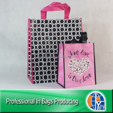 100% eco-friendly bulk pp non woven reusable shopping bags