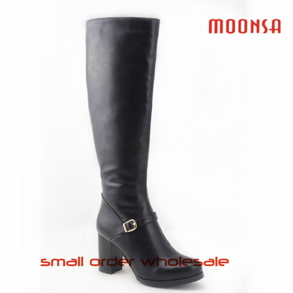 xg0109 wholesale cowboy winter knee high leather boot for