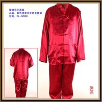 Excellent quality professional most popular satin silk lovely pajamas