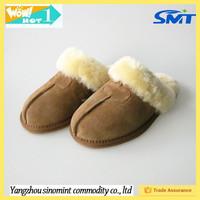 Australia cheap women high quality winter nuknuuk genuine sheepskin slipper