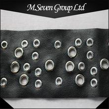 New Design 6cm Fashion Eyelet Trim, PU Eyelet Lace Trim, Eyelet Webbing for Dress/Garment