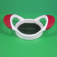 2015 best selling plastic handle potato slicer/potato cutter/potato chip slicer