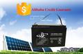 Alta linterna de la batería sistema de energía solar 10hr 12V100Ah para solar, eps, sistema de vientos
