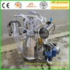 Piston Type Single Barrel Wide Used Mobile Goat Milking Machine