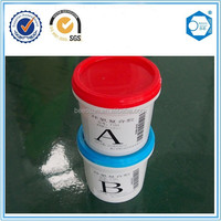 High temperature resistant and waterproof epoxy adhesive glue