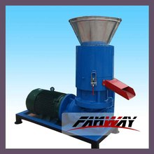 ce approved rice husk flat die pellet press machine in China