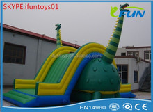 top sell giant inflatable slide / big inflatable giraffe slide / large inflatable slide