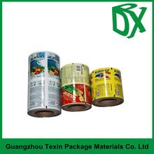 Plastic Printed Laminated Rolls / Film Food Grade For Food Bags/Vacuum Bag Film Rolls
