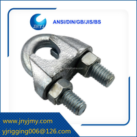 galvanized us type fasteners malleable wire rope clip