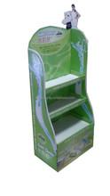Best Price Custom Floor Paper Cardboard Display Stand for Baby Skin Product
