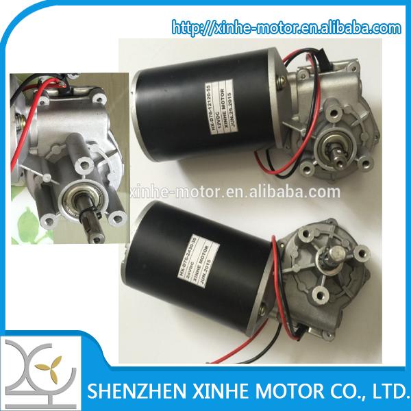 90mm 12v 24v 500w dc worm gear motor wipper motor for for 12v 500w dc motor