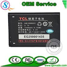 Factory Wholesale Original Standard High Replacment Mobile Phone Battery 1500mAh For Alcatel TCL A510 AKKU Batteriji Batteria