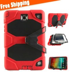 Hybrid Rugged Heavy Duty Cover Case For Samsung Galaxy Tab A 9.7 P550 T550 Shockproof Tablet Case With Kickstand