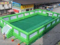 portable inflatable panna soccer cage /inflatable football field