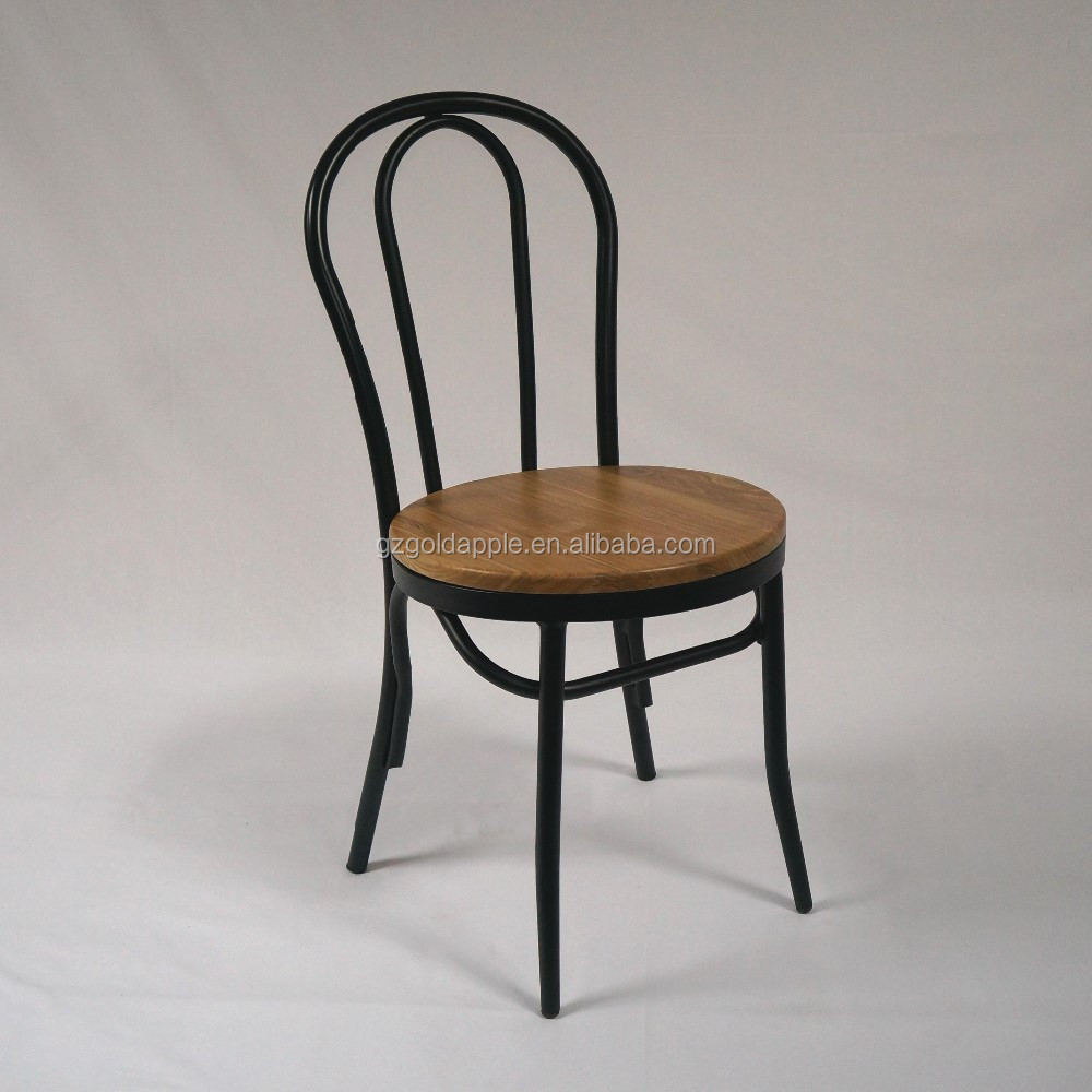 French Style Thonet Solid Wood Seat Dining Chair