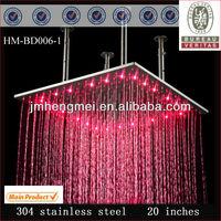 20 Inch Stainless Steel German Bathroom Faucets rain shower head