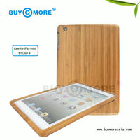 high quality green products for ipad mini bamboo case