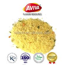 Halal Nigeria sabor de pollo Bouillon existencias en polvo [ AVIVA polvo ]