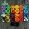 High quality small silicone container customized Pocket convenient carry BHO silicone wax and oil container