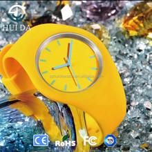 Geneva thin rubber sport watch,Trend silicone watches