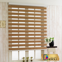 Latest designs of curtains fancy curtain designs blackout curtain/zebra blinds/blackout zebra blinds