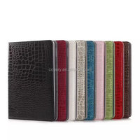 Flexible PU Leather Holder Shell Case for iPad Air 2