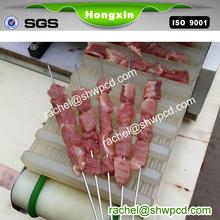 Elétrico automático shish kabob souvlaki churrasco máquina de espeto