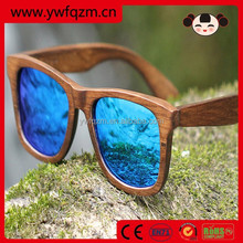 2015 high quality TOP SALE real wooden material wooden sunglasses