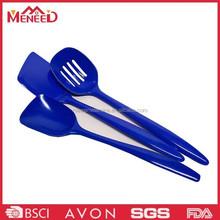 BSCI certificated kitcken used plastic shovel , melamine frying spoon