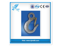 Safety rope with metal hook