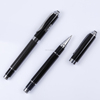 Exclusive carbon fiber roller ball pen gift set