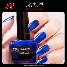 Water based colorful nail polish cosmetic nail liquid lacquer polish