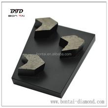 Diamond tool 12mm arrow granite grinding block for atuo grinding machine