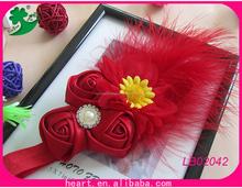 Accesorio de flores de tela para el pelo de f'ábrica