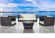 2014 Great Nice Classic Rattan Garden Sets 3 Piece low seat Outdoor Sofa