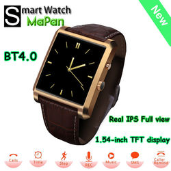 new smart watch phone with BT4.0 waterproof pedometer watch MT2502A