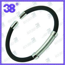 2013 China fashion tube Flexible leather bangles & bracelets supplies