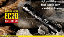 Intelligent nitecore EC20 torch tactical LED torch nitecore EC20 powerful tool for camping
