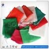 Heavy duty reusable plastic mesh bag for vegetables