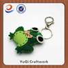 Cool promotional plush frog keychain