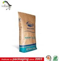 china alibaba wholesale custom kraft paper bag for milk powder