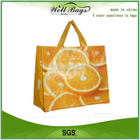 Reusable laminated pp woven bags for shopping, laminated shopping bag,shopping bag